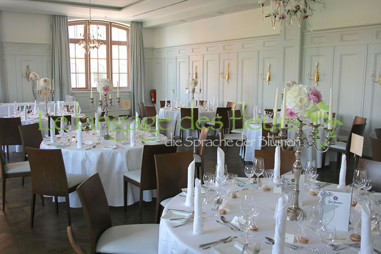 Wedding, peonies, Munich, wedding decoration