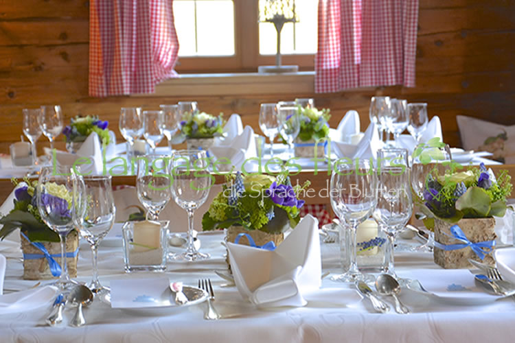 Wedding decoration, Bavarian, Rustic, Munich