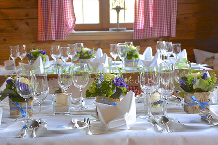 Hochzeitsdeko hochzeitsdekoration blumendeko m nchen for Hochzeitsdekoration